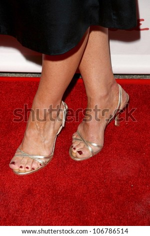 Rachel Harris's shoes  at the VH1 Save The Music Foundation and Esquire Magazine Benefit Gala, Esquire House, Los Angeles, CA. 10-25-08