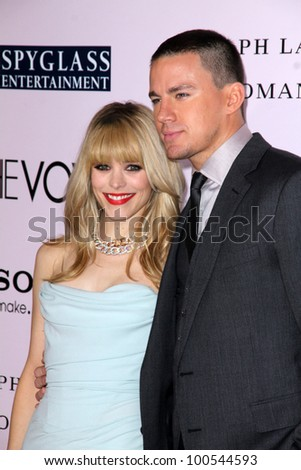 "Rachel McAdams, Channing Tatum at ""The Vow"" World Premiere, Chinese Theater, Hollywood, CA 02-06-12"