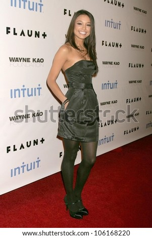Rachel Smith  at Flaunt Magazine's 10th Anniversary Party And Holiday Toy Drive. Wayne Kao Mansion, Homby Hills, CA. 12-18-08