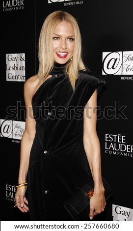 Rachel Zoe at the Los Angeles Gay & Lesbian Center Honors Rachel Zoe held at the Sunset Tower Hotel, California, United States on January 23, 2012.  - stock photo