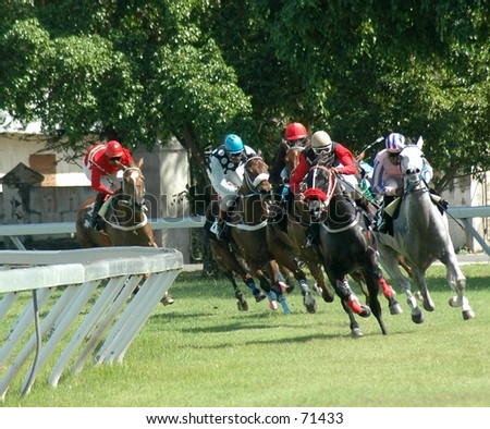 Racing - stock photo
