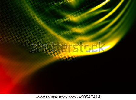 Racing abstract background. Stylized decorated fragment of the checkered flag. Spectacular and expressive approach to the subject races, rallies, speed, sport
