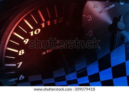 Racing Background - stock photo