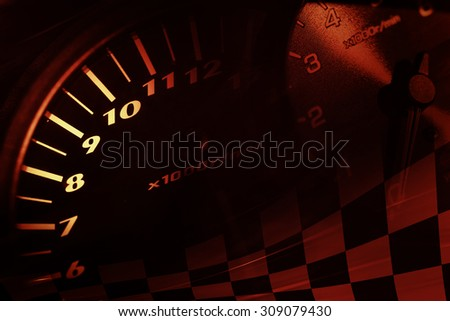 Racing Background - stock photo