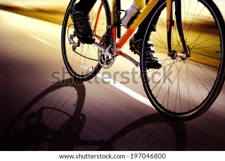 Racing Bike - stock photo