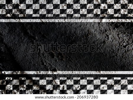 Racing flags Background checkered flag themes idea design - stock photo