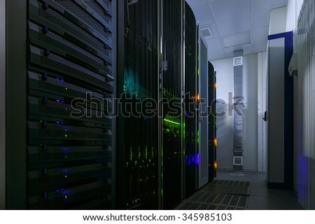 rackserver hardware in the data center