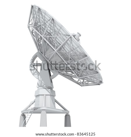 radar - stock photo