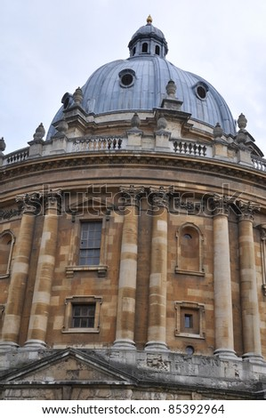Radcliffe Camera at Oxford University, England