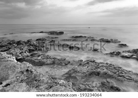 Radhanagar beach, Havlock islands, Andaman and nicobar, India - stock photo