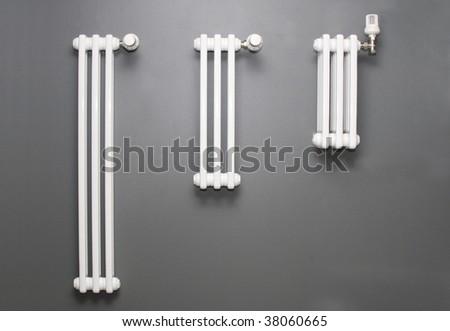 radiators - stock photo