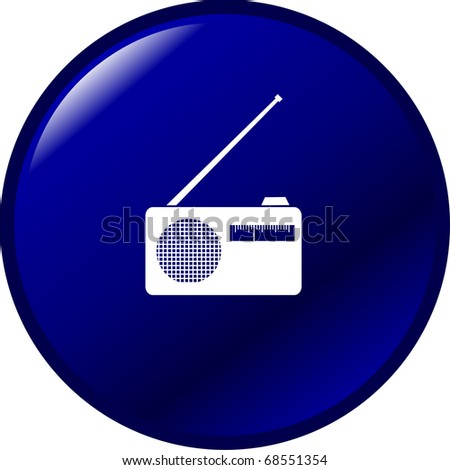 radio button - stock photo