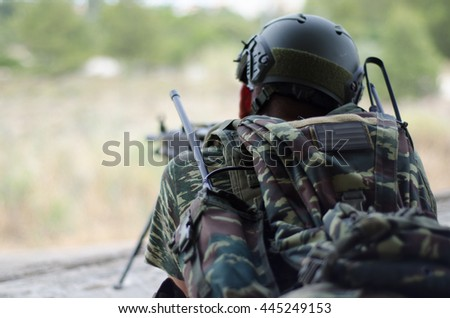 Radio operator machine gunner