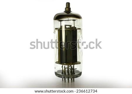 radio tube - stock photo