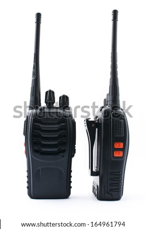Radio Wireless Communication - stock photo