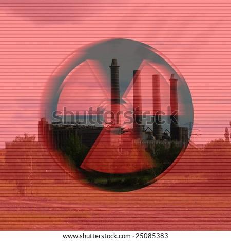 Radioactive - stock photo