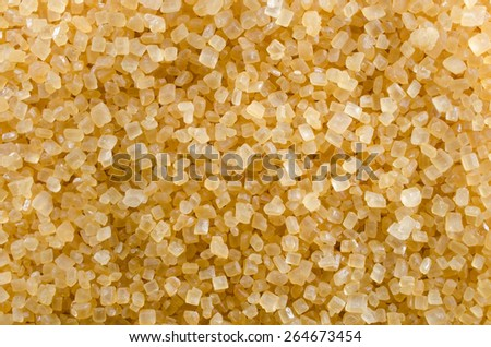 raffinated muscovado sugar - stock photo