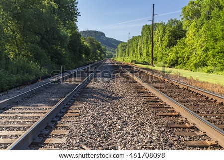 Railroad Double Track Mainline