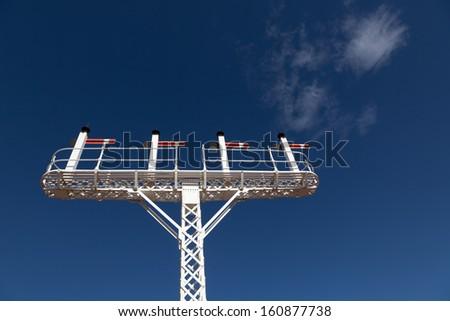 railroad signal Australia - stock photo