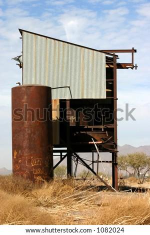 Railroad Structure - stock photo