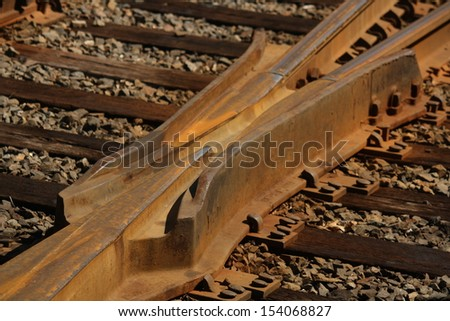 railroad track intersection