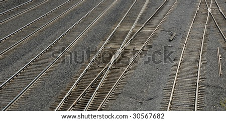 Railroad Yard Pattern / Background