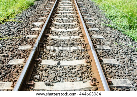 Railway and grit