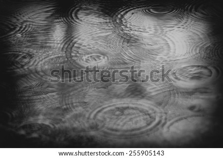 Rain background or texture motion blur