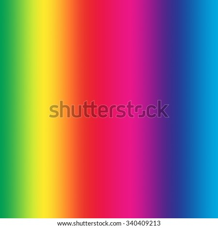 Rainbow background. Full natural colors of spectrum in square canvas