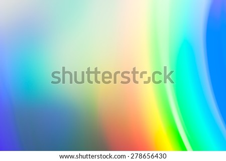 rainbow color abstract background - stock photo
