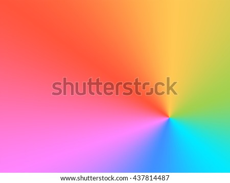 Rainbow color graduated fill pattern for backgrounds and fills