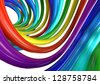 rainbow color multi-colored abstract background - stock photo