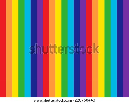 Rainbow Colors - stock photo