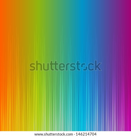 Rainbow gradient equalizer