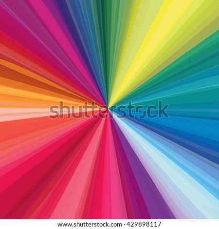 Rainbow line, abstract background.