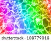Rainbow pool water background texture - stock photo
