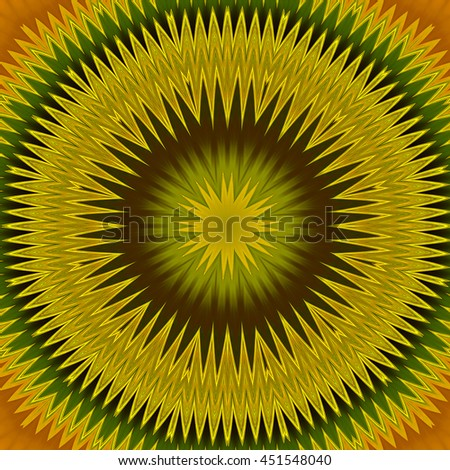 Rainbow red orange yellow green blue purple spiral oval macro illustration flower floral design pretty detailed vivid colorful lines and waves - stock photo