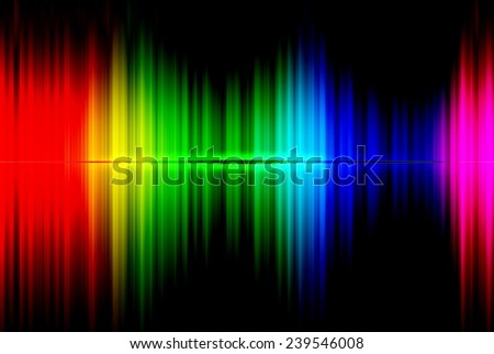 Rainbow spectrum technology abstract background