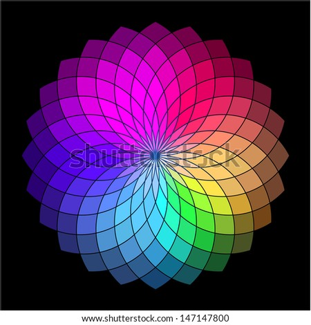 Color Wheel Palette Stock Images Royalty Free Images