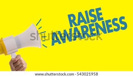 Awareness Stock Images, Royalty-Free Images & Vectors ... Raising Awareness