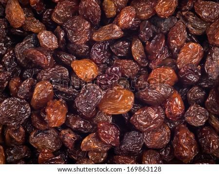 Raisins - stock photo