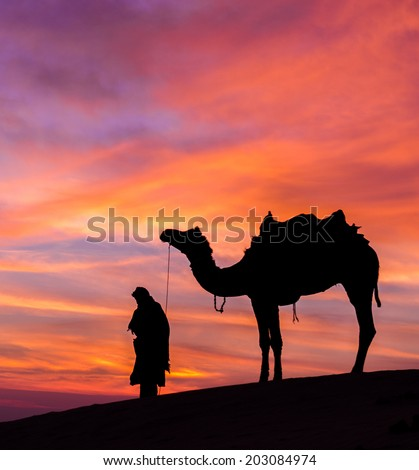 Rajasthan india - stock photo