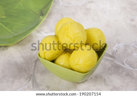 Rajbhog  or Bengali Rasgulla or Cham Cham, Indian Sweet