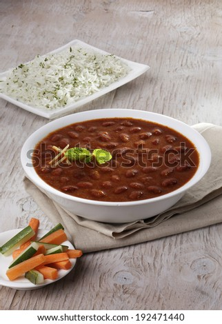 Rajma Masala, Curry,Indian food, India - stock photo