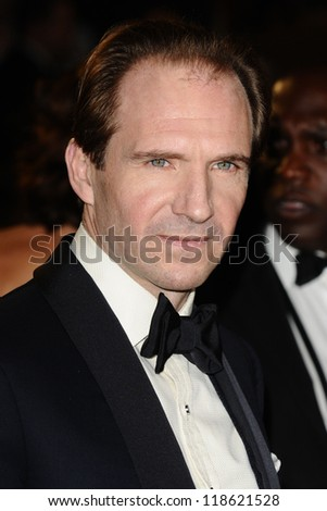 Ralph Fiennes arriving for the Royal World Premiere of 'Skyfall' at Royal Albert Hall, London. 23/10/2012 Picture by: Steve Vas