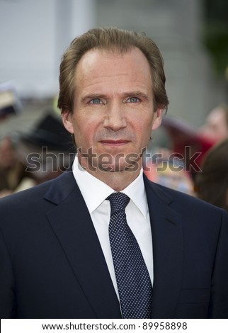 Ralph Fiennes arriving for the World Premiere of 'Harry Potter & the Deathly Hallows pt2', Trafalgar Square, London. 07/07/2011  Picture by: James McCauley / Featureflash