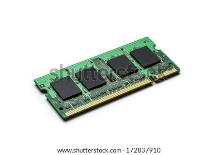 Ram memory - stock photo