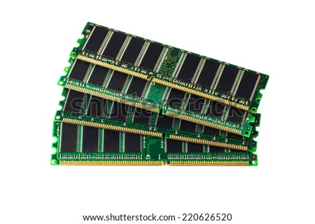 RAM memory module - stock photo