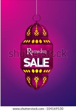Ramadan Sale - stock photo