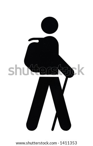Hiking Trail Symbol Stock Photos Images Amp Pictures